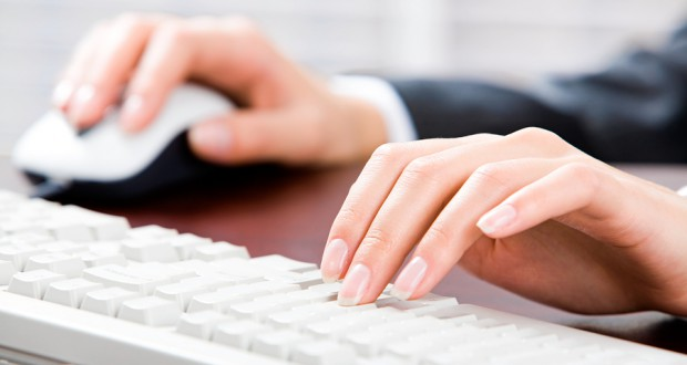 bigstockphoto_Typing_Documents_2602015